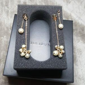 Christian Dior Pearl drop earrings